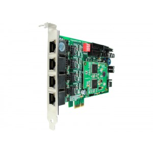 OpenVox BE400E - 4 Port ISDN BRI PCIe card + EC4008